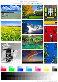 Small Picture Printer Test Images colour and monochrome images for testing