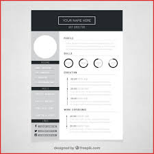 Inspirational Artist Cv Templates Free Excuse Letter