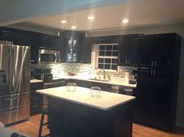 painted kitchen cabinets with black appliances. Cabinets Ideas Painting Oak Bathroom Black Pictures White Painted Kitchen With Appliances