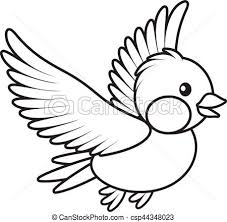 birds flying black and white clipart. Brilliant Birds Bird Flying  Csp44348023 To Birds Flying Black And White Clipart F