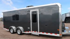 toy hauler 2020 sundowner 7 5x22 aluminum cargo trailer with full bathroom trailersusa