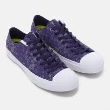 converse purple. 317396 converse chuck taylor all star ii reflective wash shoe, purple e