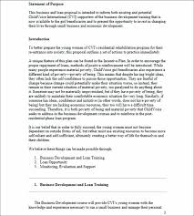 Sample Loan Proposal Template Template Bank Loan Proposal Template Business For Sample Statement 18