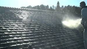 painting roof shingles st asstos black painted before and after paint asphalt shingle white painting roof