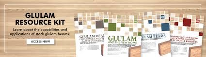 Glulam Apa The Engineered Wood Association