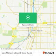 Grand Rapids Marathon Elevation Chart How To Get To Lake Michigan Seward In Grand Rapids By Bus