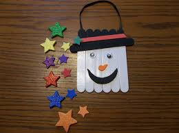 details about homemade snowman door hanger wood foam craft kit make your own
