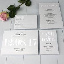 menu cards notonthehighstreet com Wedding Invitations Uk Not On The High Street modern traditional wedding invitation wedding invitations uk high street
