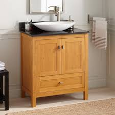 Bamboo Vanity Bathroom Extraordinary Signature Hardware 48R Alcott 48 Single Vanity Set With Bamboo