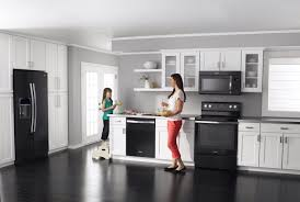 white kitchens with black appliances. White Cabinets With Black Appliances Tin Backsplash . Today S Appliance Colors And Finishes Arizona Wholesale Supply Kitchens