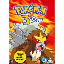 Pokemon 3: The Movie DVD