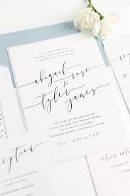 romantic calligraphy wedding invitations dusty blue weddings Letterpress Wedding Invitations Free Samples dusty blue wedding invitations with modern calligraphy from shine wedding invitations click through for ordering Free Wedding Invitation Downloads