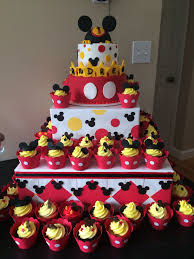 Mickey Mouse First Birthday Cake Cake Hobby Mickey Mouse