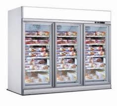 door freezer glass door refrigerators