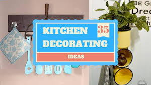 Diy Kitchen Decorating 35 Diy Kitchen Decorating Ideas Giving A Complete Makeover Youtube