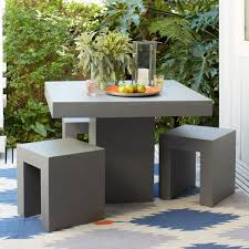 unique outdoor furniture. Modern Minimal Dining Set Unique Outdoor Furniture O