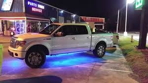 F150 Underbody Lighting F150 With Underglow Colorshift Oracle Leds Youtube