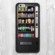 Vending Machine That Buys Phones Inspiration LUCKBUY Vintage Snack Vending Machine Protective Cover Case For