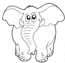 Animali Da Stampare E Colorare Elefante Blogmammait