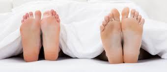 Koude voeten in bed