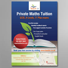 Elegant, Modern, Tutoring Flyer Design For A Company By Sy | Design ...