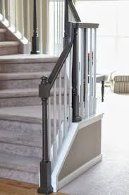 Painted Wood Stairs Best 25 Painted Banister Ideas Only On Pinterest Banisters