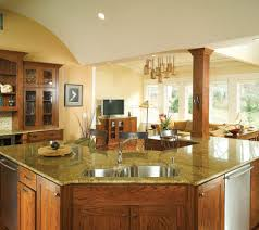kitchen color ideas with oak cabinets and black appliances. Fine Ideas FurnitureDeluxe Idea Craftsman Style Kitchen Oak Cabinets Granite Paint  Ideas With Light Color And Black Appliances U
