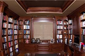 home office library. 2-Cherry-library-and-office Home Office Library -
