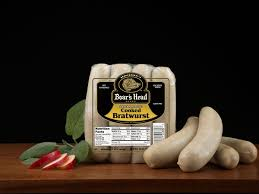 Cooked Bratwurst Natural Casing Boars Head