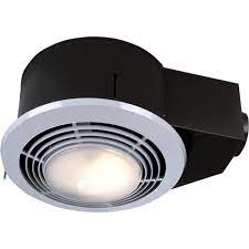 Reviews For Broan Nutone 100 Cfm Ceiling Bathroom Exhaust Fan With Light And Heater Qt9093wh The Home Depot