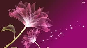 Purple Flowers Backgrounds Purple Flower Wallpaper Digital Art Wallpapers 5458