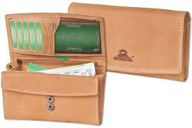woodlandlarge luxury las leather wallet made from natural soft buffalo leather in brown 2002904