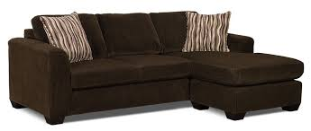 sectional sofa with chaise. Fine Sectional Nina 2Piece Corded Microsuede Sectional With Chaise U2013 ChocolateSofa  Sectionnel 2 Intended Sofa With