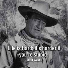 Pin By School Of Hard Knocks On School Of Hard Knocks Pinterest Stunning Life Is Hard Its Harder If Youre Stupid Poster
