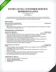 Resume For Customer Service Representative Enchanting Sample Resume For A Customer Service Representative Financial
