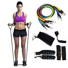 PETOU 11pcs/set Resistance Bands with Handle ... - Amazon.com