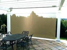 roll down shades for patio sun patios outdoor drop eclipse vertical out roll down shades for