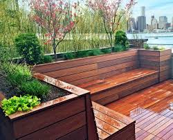 Small Picture Brooklyn Heights Roof Deck Garden Design with Hot Tub and Deck