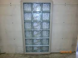 premade glass block windows prefabricated glass block window installing premade glass block windows in a wood