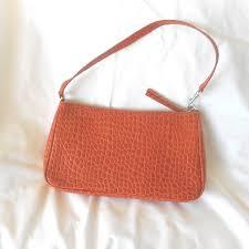 banana republic leather clutch handbag and similar items 57