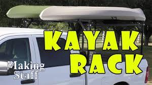 DIY Kayak Rack for Pickup Truck - YouTube