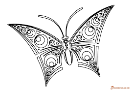 b76b92949e75b396668f9a4ecdde2825 amazing pattern template butterfly coloring pages pinterest on security requirements template