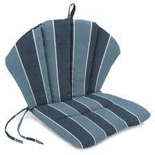 Knife Edge Barrel Back Chair Cushion Tar