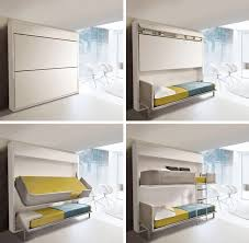 Small Spaces Urban Lollisoft Murphy Bunk Beds (1)