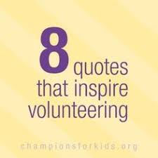 Volunteer Quotes on Pinterest | Community Service Quotes, Hospice ... via Relatably.com