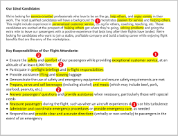 Flight Attendant Job Description Resume Sample Flight Attendant Resume Sample Complete Guide [24 Examples] 3