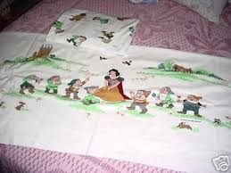 disney snow white twin sheet set dwarfs