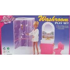 amazoncom barbie size dollhouse furniture bathroom toys games amazoncom barbie size dollhouse