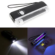 Portable Bright Lights Us 3 69 37 Off Portable Bright Led Night Lights Handheld Uv Black Light Torch Lamp Blacklight For Party Stage Dj Pet Money Verify In Portable