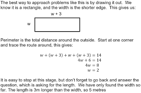 gcse linear equations word problems